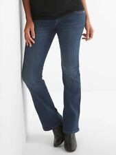 Gap Maternity Inset Panel Perfect Boot Jeans Size 2