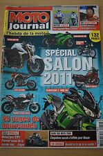 MOTO JOURNAL N°1924 KAWASAKI Z1000 SX GUZZI 1100 CALIFORNIA MOTOGP MOTO TOUR '10