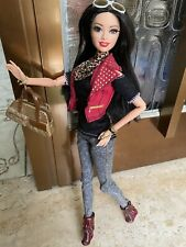Barbie Raquelle Style Deluxe Glam Articulated Body Fashionistas Brunette Doll
