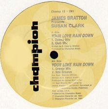 JAMES BRATTON PRESENTS SUSAN CLARK-Your Love Rain Down - Uk 1991