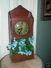 Vintage Telechron Movement Broadway Wall Clock Planter
