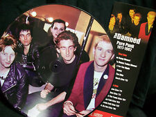 THE DAMNED  Picture Disc LP - PURE PUNK 1977-1982  Love song Stab your back