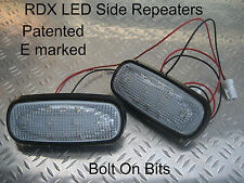 RDX LED CLEAR Side Repeaters Freelander 1 1998 to 2006 Td4 1.8 V6 GS Xedi ONLY