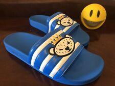 Adidas Adilette Nigo Size 11 Slide Sandals Blue White Gold S75558 Free Shipping