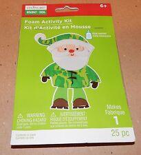 Christmas Craft Foam Activity Kit Creatology 25pc Camouflage Santa 93J
