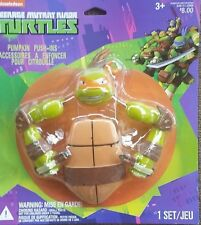 Halloween TEENAGE MUTANT NINJA TURTLE Pumpkin Push-Ins 4 Pieces