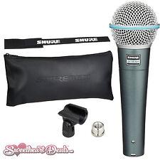 Shure Beta 58A - Super-Cardioid Handheld Dynamic Microphone