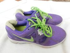 Nike Air Lunarglide 3 Fitness Purple/Green Sneaker Ladies Size 7.5