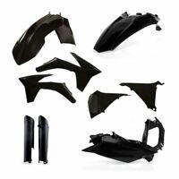 Acerbis Full Plastic Kit Airbox Black KTM EXC 125 200 250 300 2012 2013