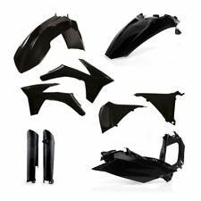 Acerbis Plastic Kit KTM EXC EXC-F 2012 2013 BLACK