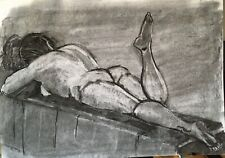 Nude study in Charcoal