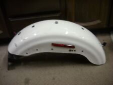 2011 Harley Davidson Sportster XL 1200 883 Rear Fender white splash mud guard