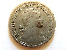1927 Portugal One (1) Escudo Coin