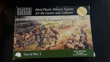 15mm PSC Russian Infantry in Summer Uniforms 130 figures Hard Plastic