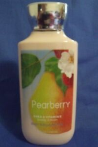 Bath and Body Works New Pearberry Women Body Lotion 8 oz Shea Butter