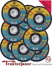 PEGATEC Trennscheiben 20 Stück inox Spezial 115 x 1,0 ISO 9001, Flex