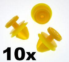 10x Jaguar Plastic Trim Clips for Side Skirts, Sill Mouldings & Rocker Cover