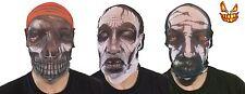 Adulto Máscara Halloween Fiesta De Disfraces medias de tela vestido tejido facial completa de Accesorios