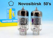 2x MATCHED PREMIUM 6N1P-V 6Н1ПВ NOVOSIBIRSK 1959 PAIR TUBE 6DJ8 6922 ECC88 E88CC