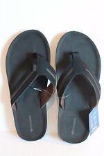 Dockers Men's Black Flip Flops Sandals Men Size XL 11-12 NEW