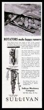 1929 Sullivan Machinery mining rotator Rand Gold Mine miner photo print ad