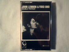 JOHN LENNON YOKO ONO Double fantasy mc cassette k7 ITALY BEATLES MAI SUONATA