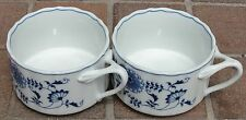 1 Blue Danube Japan Large Soup Chili Mugs Brand New Condition Anniversary Logo