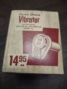 *no Reserve* Vintage Filter Queen Vibrator with extra bottle 40's-50's