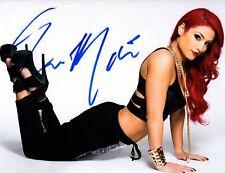 Wwe Total Divas Eva Marie Signed 8x10 Photo Coa