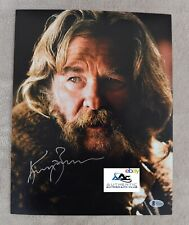 KURT RUSSELL AUTOGRAPH SIGNED 11x14 PHOTO BECKETT BAS