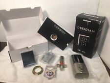 KWIKSET OBSIDIAN TOUCHSCREEN ELECTRONIC DEADBOLT 99530-001 IN BOX