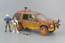 Jurassic Park Custom Battle Damage Jungle Explorer Vehicle Complete Kenner 1993