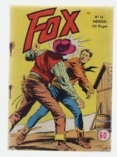 FOX N° 15 - EDITIONS LUG - NOVEMBRE 1955