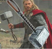 Marvel's Avengers 2 Thor Hammer Adult Replica Prop Mjolnir 1:1 Model