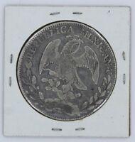 MEXICO 8 REALES 1878 COIN ZACATECAS - KM# 377.13