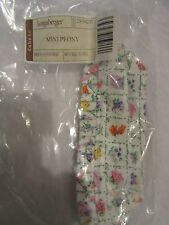 Longaberger Collector's Club May Series Peony Basket Liner