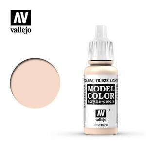 AV Vallejo Model Color 17ml - Light Flesh, Hobby/Paint