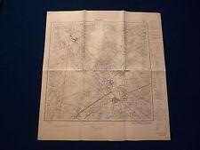 CARTINA meßtischblatt 3808 Nienborg, Heek, EPE, CERCHIO Ahaus per 1945