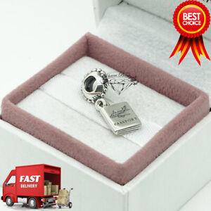 Pandora, Passport, Airplane, Flight, Pendant, Bracelet Charm 791147CZ