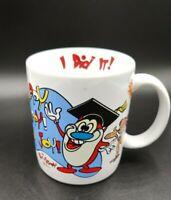 Vintage 1992 Ren and Stimpy Show Graduation Mug  Dakin Coffee Cup