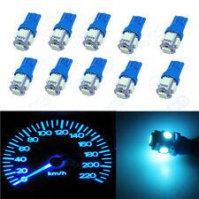 Ice Blue Instrument Panel Speedometer T10 194 Wedge 5-SMD 5050 LED Dash Light XB