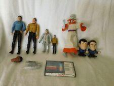 startrek original   figures  lot  loose !!!!!!!!!