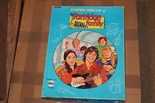 1971 Saalfield The Partridge Family Paper Dolls in Original Box