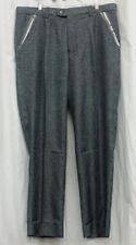 MICHAEL IRVIN 88 Pants XXL 42 Black Walking Suit Unlined Slacks