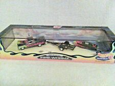 """*HOT WHEELS COLLECTIBLES """"Fireworkz"""" SET (TRUCK AND BOAT SET) MINT IN BOX"""