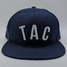 Tacoma Rainiers MiLB Embroidered TAC Logo Hat Snapback Cap Blue NEW