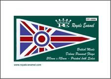 Royale Antenna Pennant Flag Lambretta Vespa MOD TARGET UNION JACK - FP1.0008
