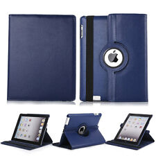 360 Rotating PU Leather Folio Case Smart Cover Stand For Apple iPad 2 3 4 Tablet