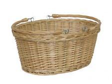 Quality Shopping Basket Medium Swing Handle Willow Wicker Shopper