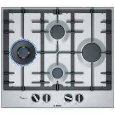 Bosch PCI6A5B90 Serie 6 60cm Induction Gas Hob in Stainless Steel